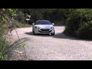 Prueba Peugeot RCZ R