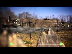 Skoda Yeti contra un tanque