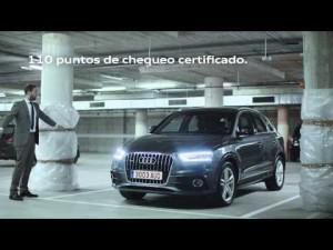 Spot Audi Selection plus Garage