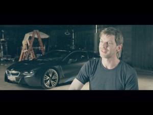 Como se hizo el anuncio del BMW i8
