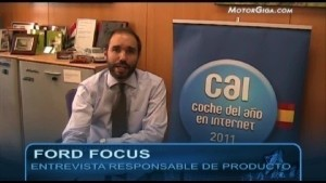Video Ford Focus 2011 - Entrevista Jefe Producto 1