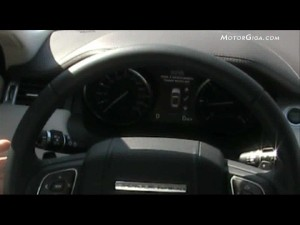 Video Land-rover Range-rover-evoque 2012 - Asistente Aparcamiento