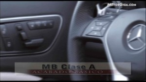 Video Mercedes Clase-a 2012 - Mb Interiores Oficial