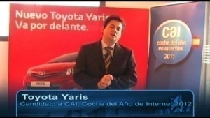 Video Toyota Yaris 2011 - Entrevista Cai