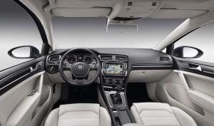 Volkswagen Golf VII, an�lisis plazas delanteras