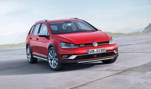 Volkswagen Golf Alltrack en el Sal�n de Par�s 2014