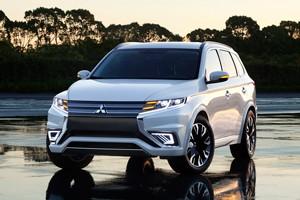 Mitsubishi Outlander PHEV Concept S en el Sal�n de Par�s 2014