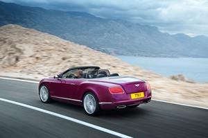 Bentley Continental GT Speed descapotable 2013