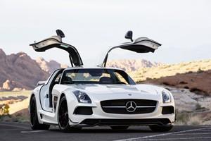 Mercedes-Benz SLS AMG Coupé Black Series 2012