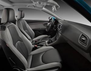 SEAT León 2013, análisis plazas delanteras