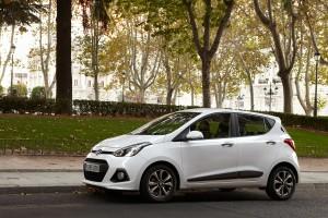 Hyundai i10 2014, análisis plazas delanteras