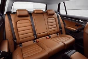 Volkswagen Golf VII, análisis plazas posteriores