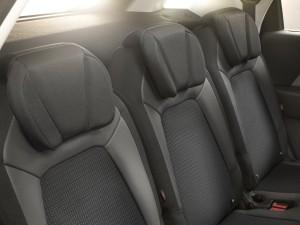 Citroen Grand C4 Picasso 2014, segunda fila asientos