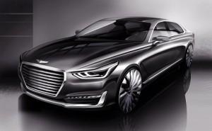 G�nesis G90, primera aproximaci�n al m�ximo lujo de Hyundai