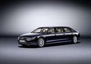 Audi A8 L Extended, descubre la exclusiva limusina de los 4 aros