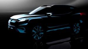 SsangYong XAVL concept 2017; un SUV mediano… con 7 plazas!
