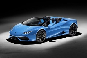 Lamborghini Huracán Spyder, V10 a cielo abierto