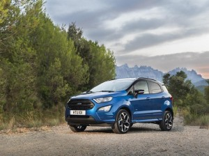 Ford EcoSport 2018: severo restyling para el B-SUV