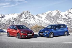 BMW Serie 2 Active Tourer y Gran Tourer 2018, cambios para los monovolúmenes de la hélice