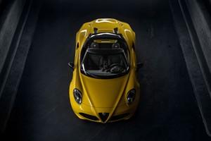 Alfa Romeo 4C Spider en el Salón de Detroit 2015