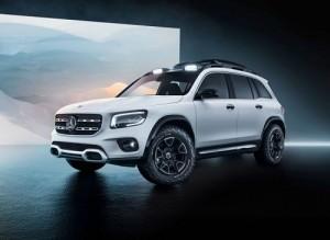 Mercedes-Benz GLB Concept, más cerca del nuevo SUV que conoceremos este mismo año