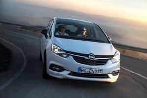 Nuevo Opel Zafira: con toda la seguridad y tecnología del Astra