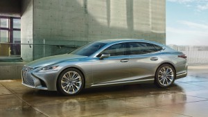 Lexus LS 2018, más distinguido y tecnológico
