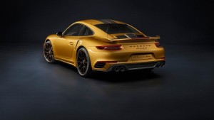 Porsche 911 Turbo S Exclusive Series; solo para sibaritas