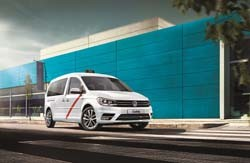 Caddy TGI BlueMotion, la apuesta de Volkswagen para los taxis de Madrid