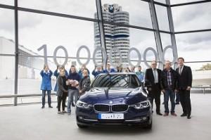 BMW Serie 3, 10 millones de éxitos en carrocería sedán