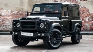 Kahn viste al Land Rover Defender