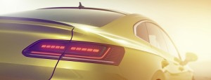 Volkswagen Arteon: nuevo adelanto de la berlina antes de su debut en Ginebra