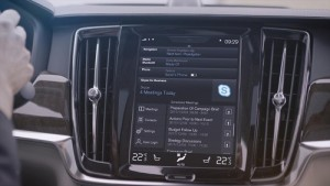 Los Volvo S90, V90 y XC90 pasan a incorporar...Skype for Business