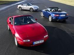 Recorren veinticinco ciudades europeas en un Mazda MX-5