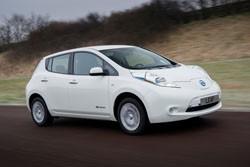 El Nissan Leaf homologado como taxi en Madrid