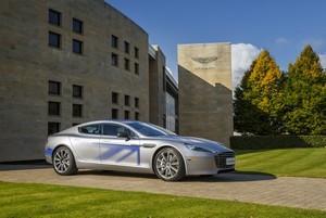 Aston Martin RapidE Concept, la exclusiva apuesta eléctrica británica