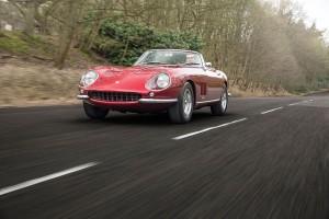 El Ferrari 275 GTS/4 NART Spider español a subasta