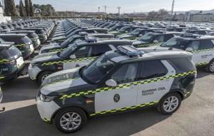 La Guardia Civil de Tráfico suma a sus filas 85 unidades del Land Rover Discovery Sd4, diésel de 240 CV