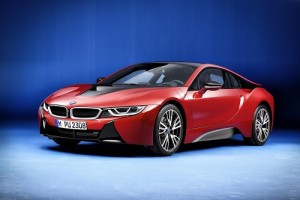 BMW i8 Protonic Red Edition, una vistosa edición especial (Salón Ginebra 2016)