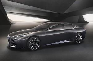 Lexus LF-FC, el futuro del lujo nip�n pasa por el hidr�geno