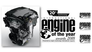 El motor 1.2 PureTech Turbo de PSA premiado por 4ª vez consecutiva como motor internacional del año