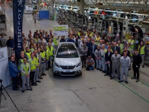 Peugeot 2008, un millón de unidades producidas avalan el creciente éxito del SUV