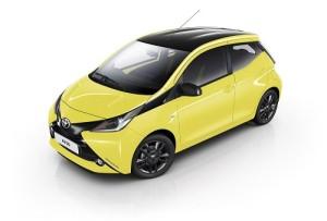 Toyota Aygo x-cite, ahora en este vivaz color amarillo