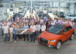 Audi inicia en Ingolstadt la producción de su nuevo SUV, el Q2