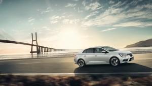 El nuevo Renault Mégane Sedán es desvelado con este dinámico diseño