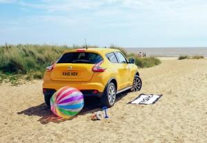 No te preocupes por dejar tu Nissan Juke al sol. ¡Lleva un factor 500 de protección UV!