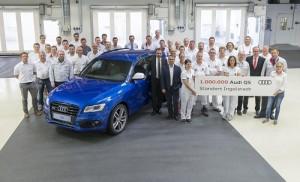 Audi Q5: un millón de éxitos made in Ingolstadt