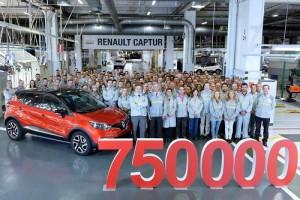 Renault Captur, el exitoso crossover alcanza las 750.000 unidades producidas