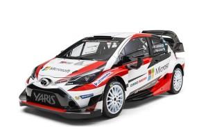 Toyota Yaris WRC 2017, el arma de Toyota Gazoo para triunfar en el mundial de rallyes