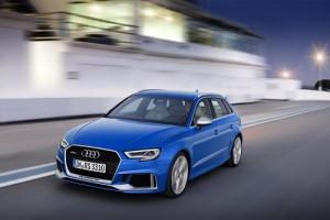 Audi RS3 2017; 400 CV y tracción Quattro, una combinación explosiva